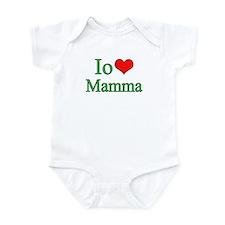 I Love Mom (Italian) Infant Bodysuit