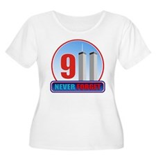 911 WTC Never Forget T-Shirt