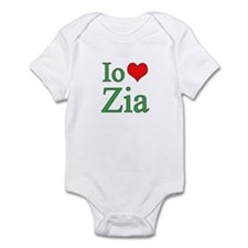I Love Aunt (Italian) Infant Bodysuit