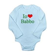 I Love Dad - 2 - (Italian) Long Sleeve Infant Body
