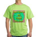 Support Stem Cell R&D It make Green T-Shirt