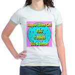 Support Stem Cell R&D It make Jr. Ringer T-Shirt