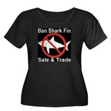 Ban Shark Fin Sale & Trade Women's Plus Size Scoop