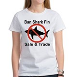 Ban Shark Fin Sale & Trade Tee