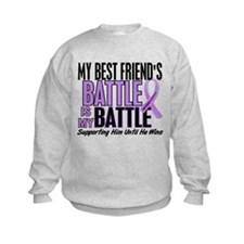 My Battle Too Hodgkin's Lymphoma Sweatshirt