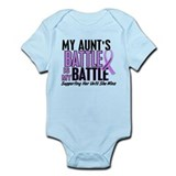 My Battle Too Hodgkin's Lymphoma Onesie