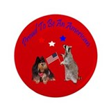 Proud To Be An American 3.5&amp;quot; Button (100 pack