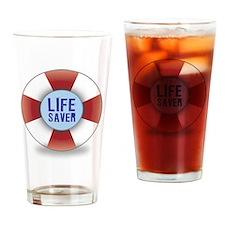 Life saver Pint Glass