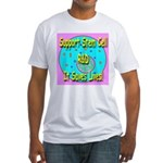 Support Stem Cell R&D It Save Fitted T-Shirt