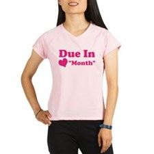Due in Custom Date Women's Sports T-Shirt