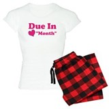 Due in Custom Date Pajamas