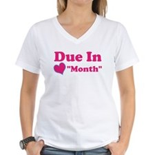Due in Custom Date Shirt
