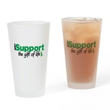 iSupport Life Drinking Glass