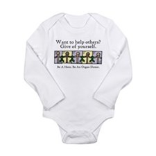 Give of Yourself Long Sleeve Infant Bodysuit