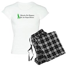 Green Ribbon Miracle Pajamas