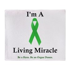 Living Miracle 2 Throw Blanket