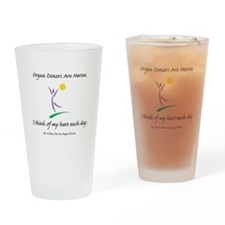 Inside-Out Donor Thanks Pint Glass