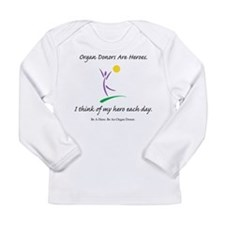 Inside-Out Donor Thanks Long Sleeve Infant T-Shirt