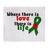 Love And Life Throw Blanket