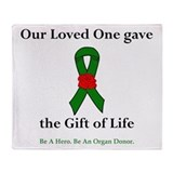 Loved One Donor Throw Blanket