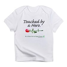 Touched by a Hero Infant T-Shirt