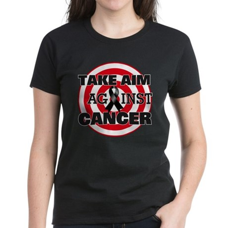 Take Aim - Skin Cancer Women's Dark T-Shirt