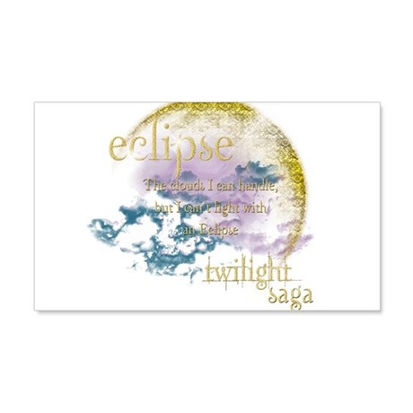 Jacob Quote Eclipse Clouds 22x14 Wall Peel