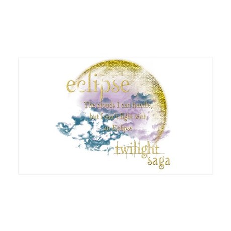 Jacob Quote Eclipse Clouds 38.5 x 24.5 Wall Peel