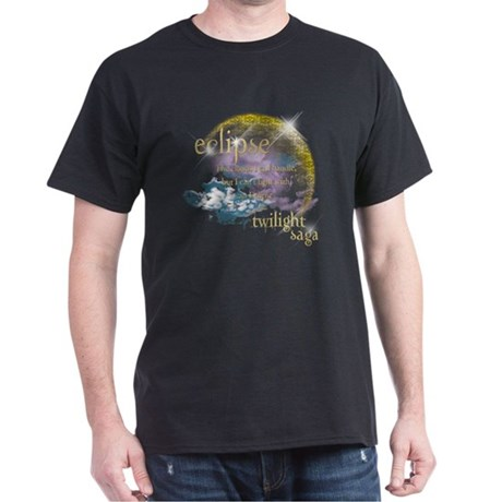 Jacob Quote Eclipse Clouds Dark T-Shirt