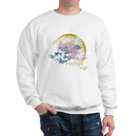 Jacob Quote Eclipse Clouds Sweatshirt
