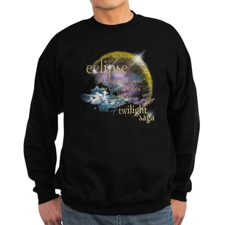 Jacob Quote Eclipse Clouds Sweatshirt (dark)
