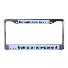 Nonparent License Plate Frame