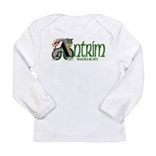 County Antrim Long Sleeve Infant T-Shirt