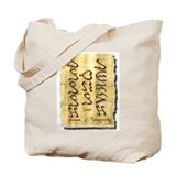 Peace Love and Prosperity Tote Bag