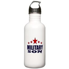 Military Son Water Bottle