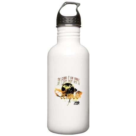 Jacob Quote Eclipse Clouds Stainless Water Bottle