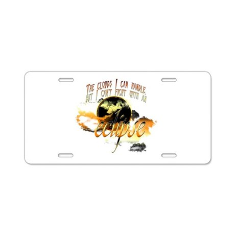 Jacob Quote Eclipse Clouds Aluminum License Plate