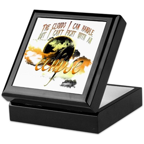 Jacob Quote Eclipse Clouds Keepsake Box