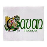 County Cavan Throw Blanket