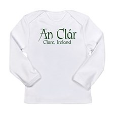 County Clare (Gaelic) Long Sleeve Infant T-Shirt