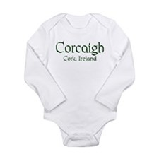 County Cork (Gaelic) Long Sleeve Infant Bodysuit