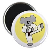 Unique Karate kids Magnet
