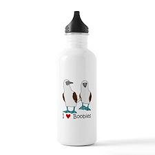 I Heart Boobies Water Bottle
