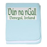 County Donegal (Gaelic) baby blanket