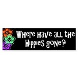hippies... Bumper Bumper Stickers