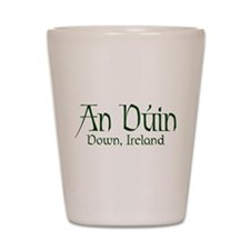 County Down (Gaelic) Shot Glass