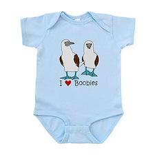 I Heart Boobies Infant Bodysuit