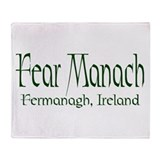 Fermanagh (Gaelic) Throw Blanket