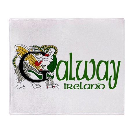 County Galway Throw Blanket