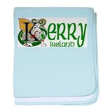Kerry Celtic Dragon baby blanket